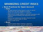 minimizing credit risks3