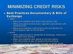 minimizing credit risks8