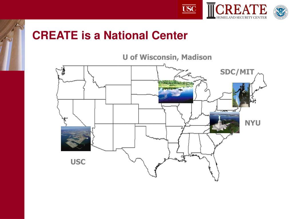 CREATE is a National Center