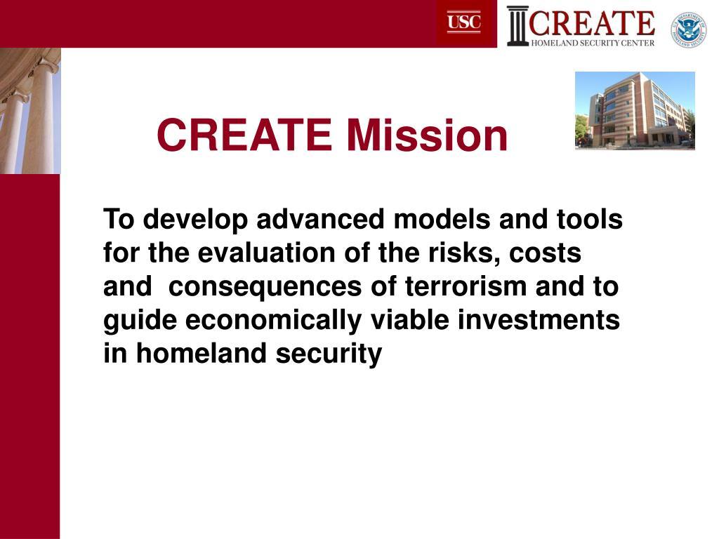 CREATE Mission