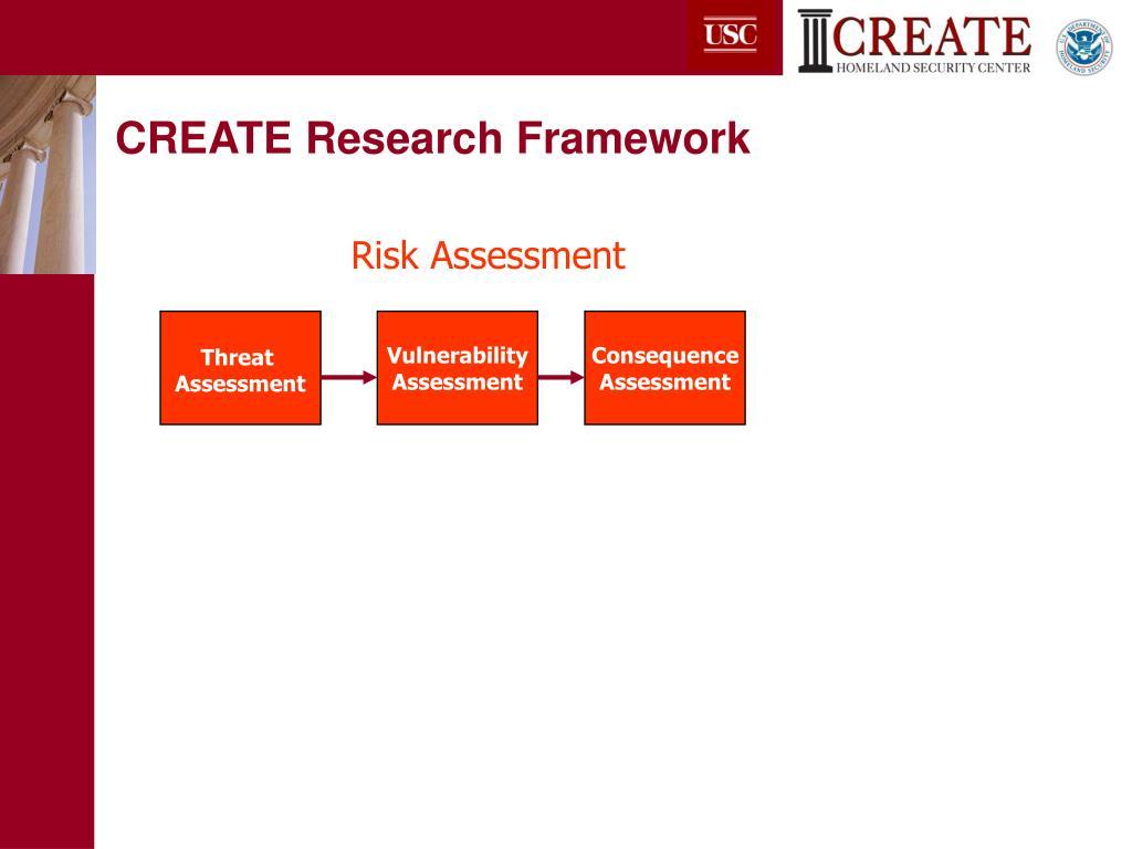 CREATE Research Framework