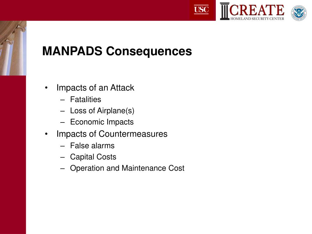 MANPADS Consequences