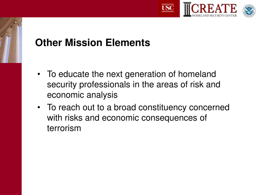 Other Mission Elements
