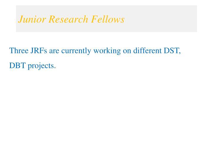 Junior Research Fellows