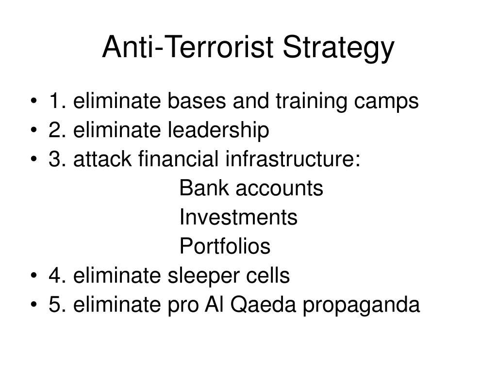 Anti-Terrorist Strategy