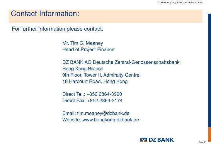 DZ BANK Hong Kong Branch -  30 September, 2005