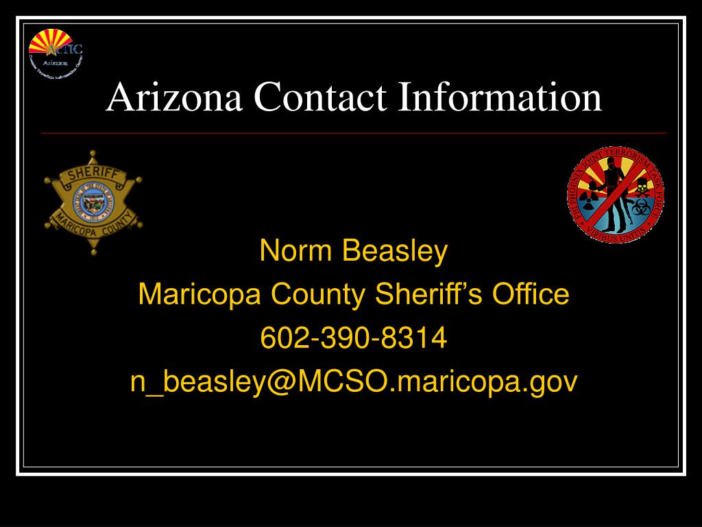 Arizona Contact Information