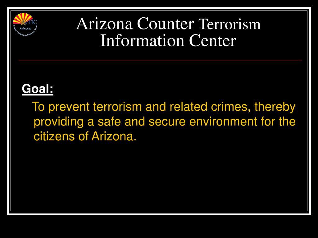 Arizona Counter