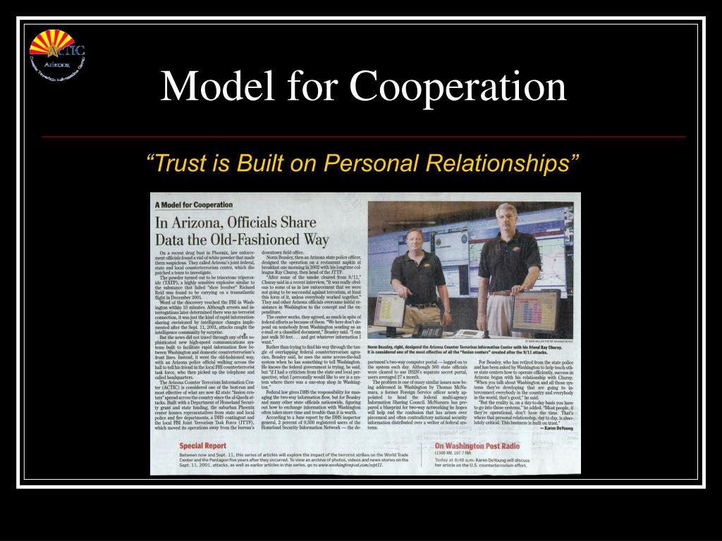 Model for Cooperation