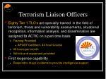 terrorism liaison officers
