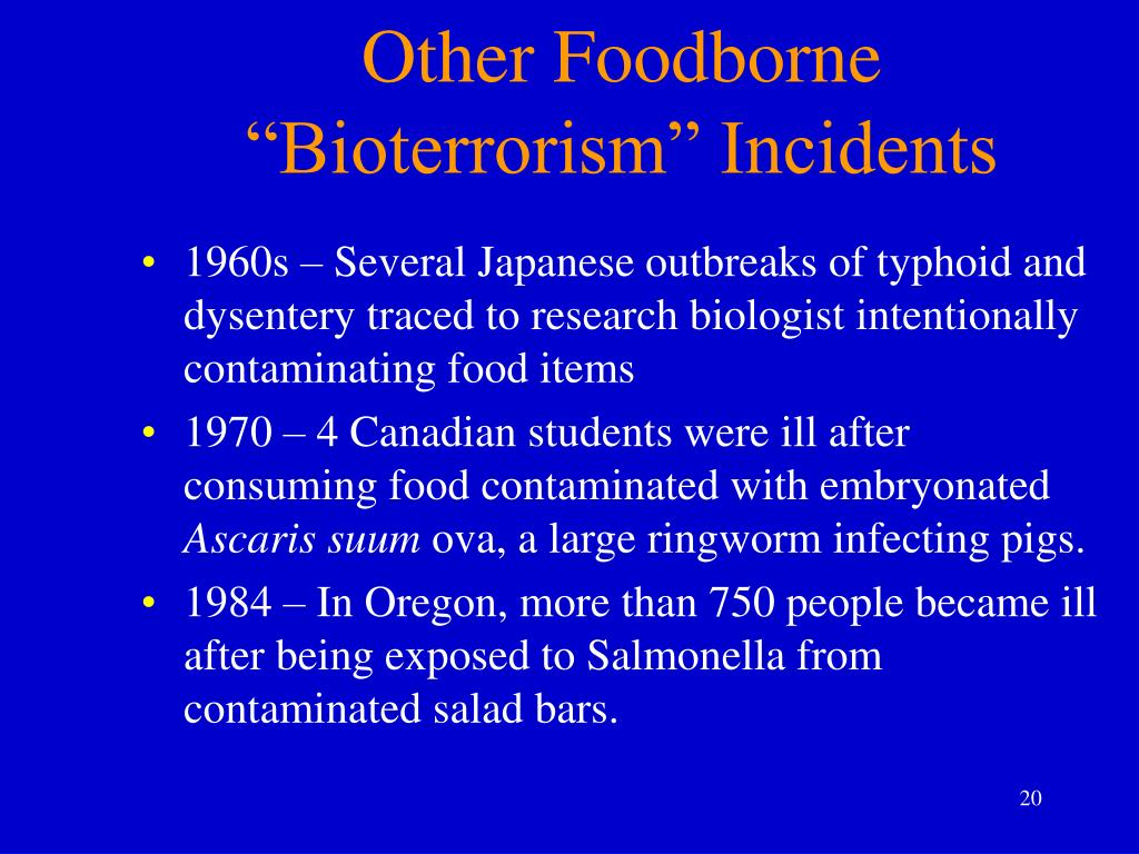 Other Foodborne