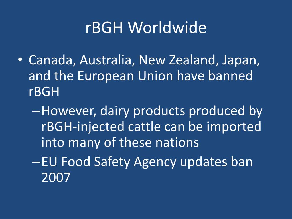 rBGH Worldwide