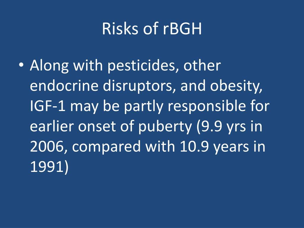 Risks of rBGH