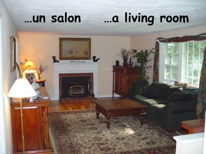 …un salon