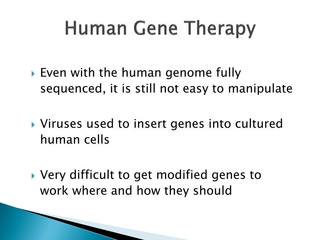 Human Gene Therapy
