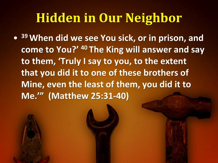 Hidden in Our Neighbor