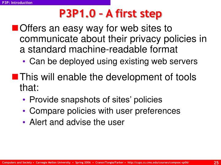 P3P: Introduction