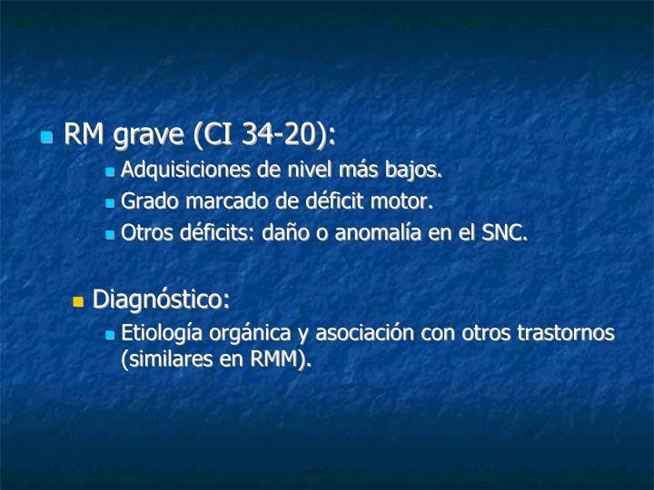 RM grave (CI 34-20):