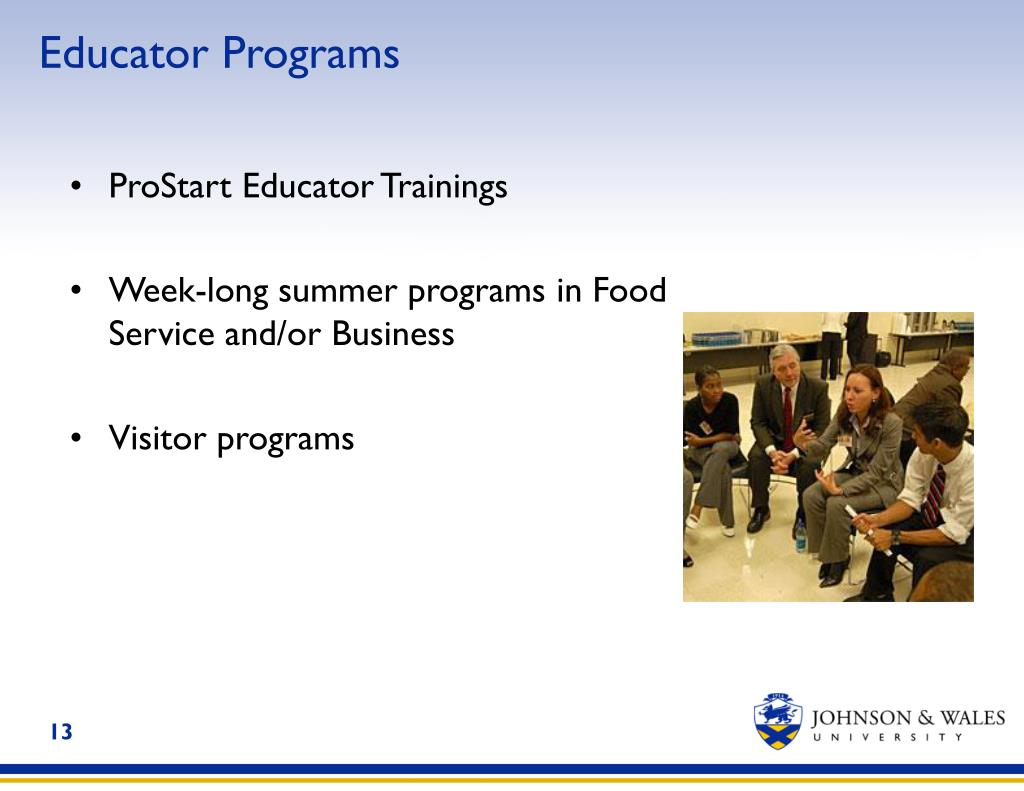 Educator Programs