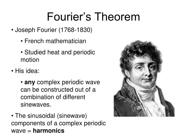 Fourier's Theorem