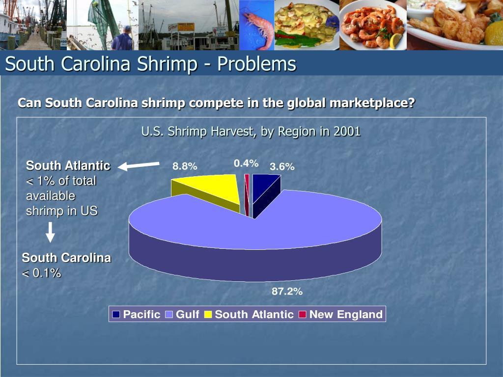 South Carolina Shrimp - Problems