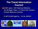 the travel information council
