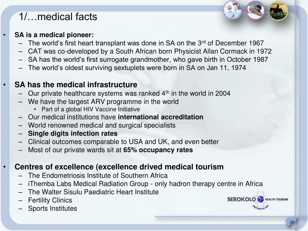 SA is a medical pioneer: