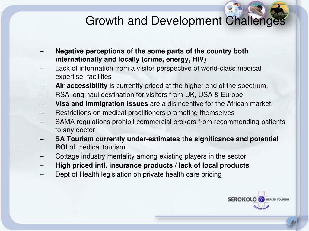 Growth and Development Challenges