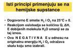 isti principi primenjuju se na hemijske supstance
