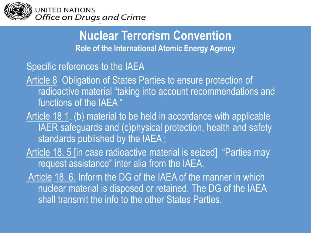 Nuclear Terrorism Convention