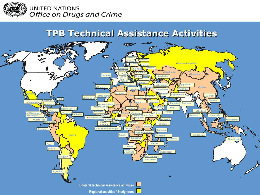TPB Technical Assistance Activities