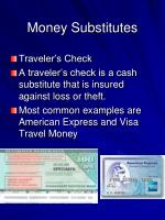 money substitutes2