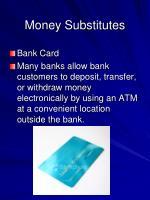 money substitutes5