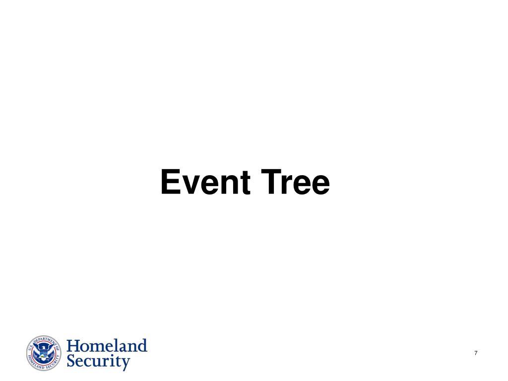 Event Tree