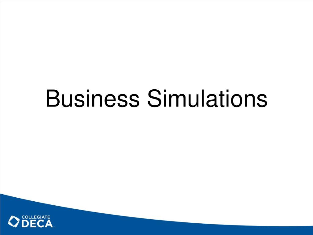 Business Simulations
