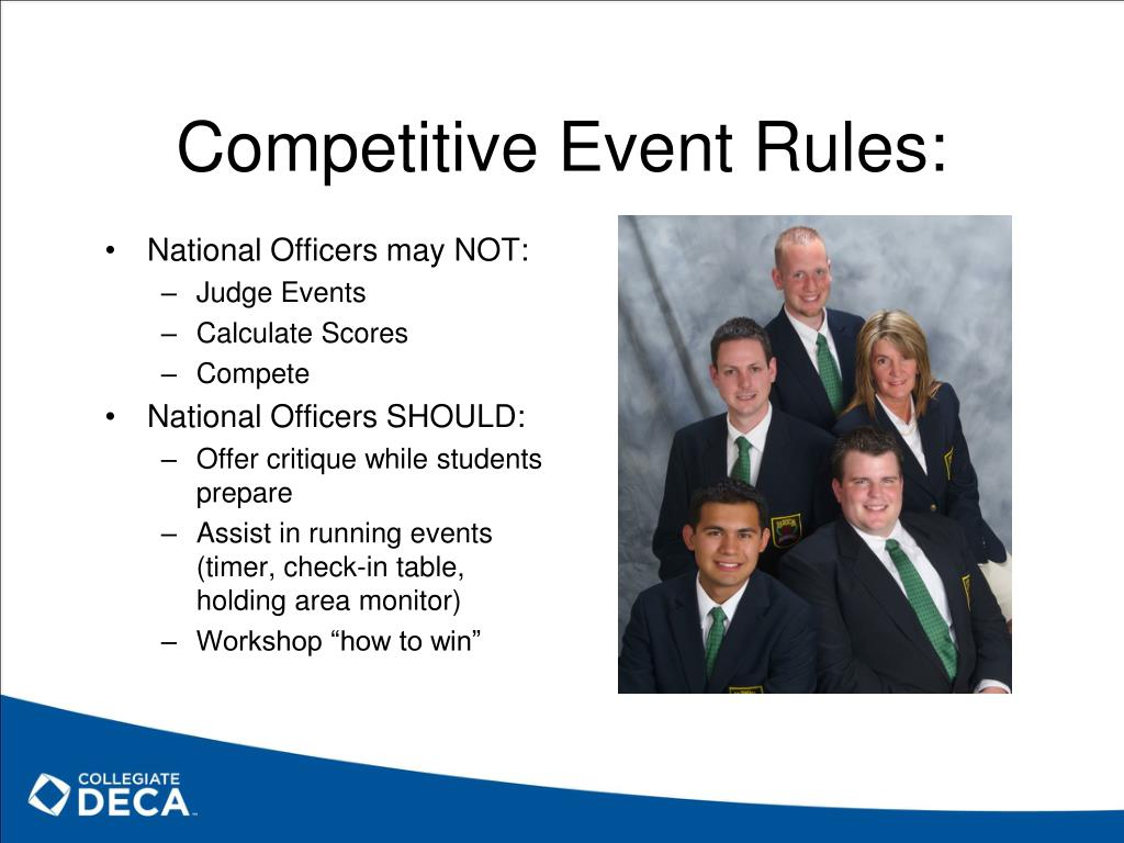 Competitive Event Rules: