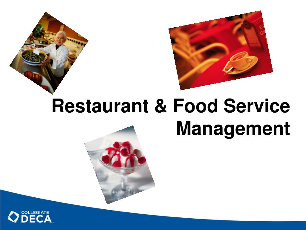 Restaurant & Food Service Management