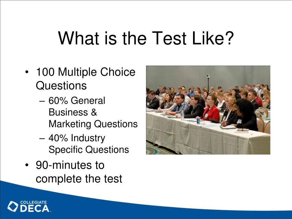 What is the Test Like?