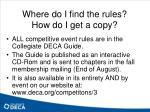 where do i find the rules how do i get a copy