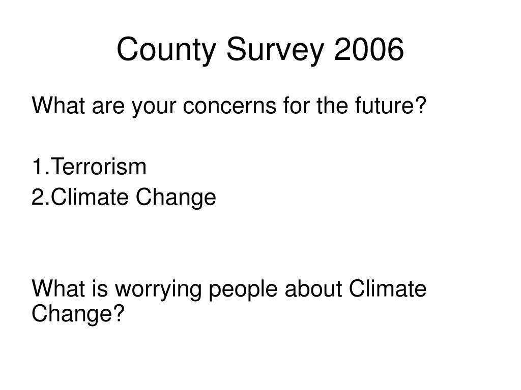County Survey 2006
