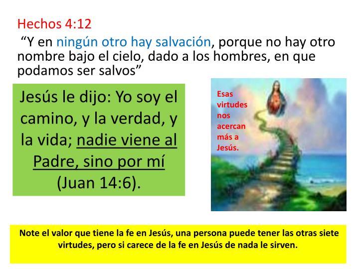 Hechos 4:12