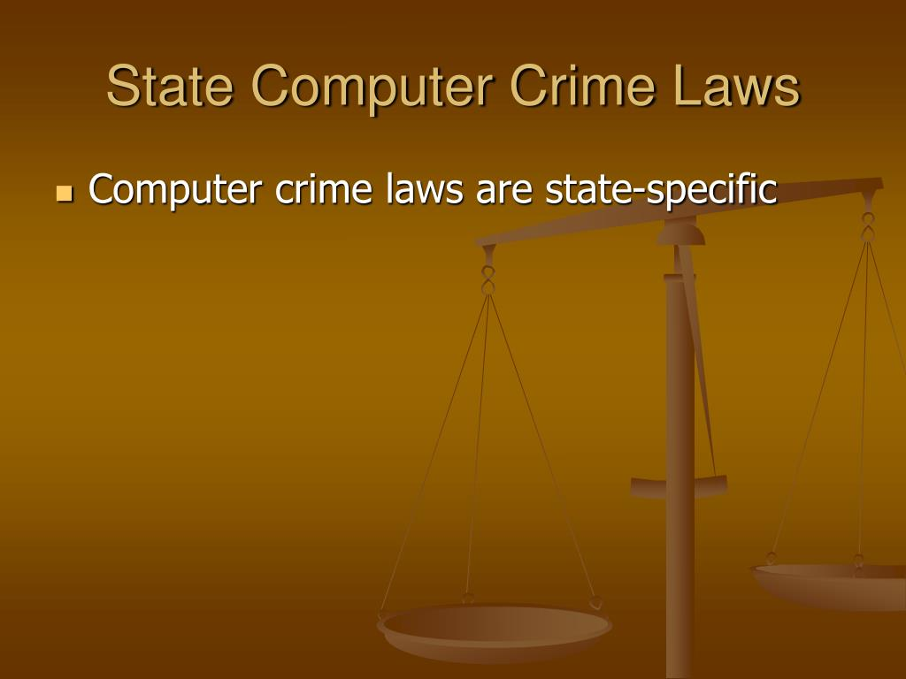 State Computer Crime Laws
