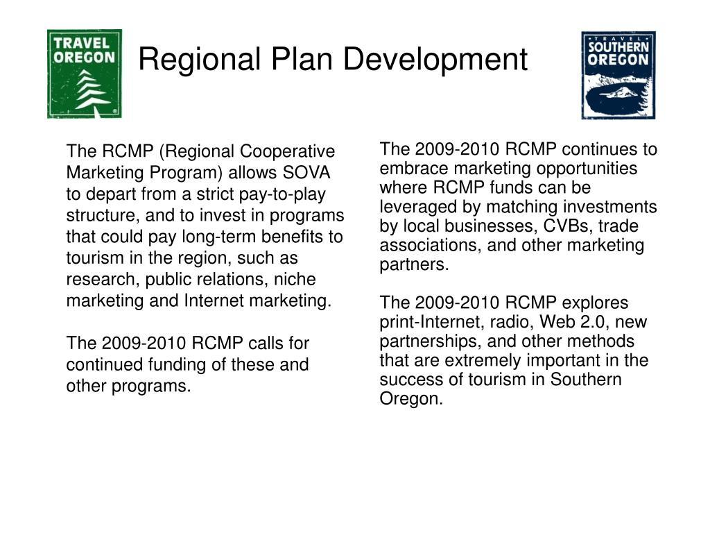 Regional Plan Development