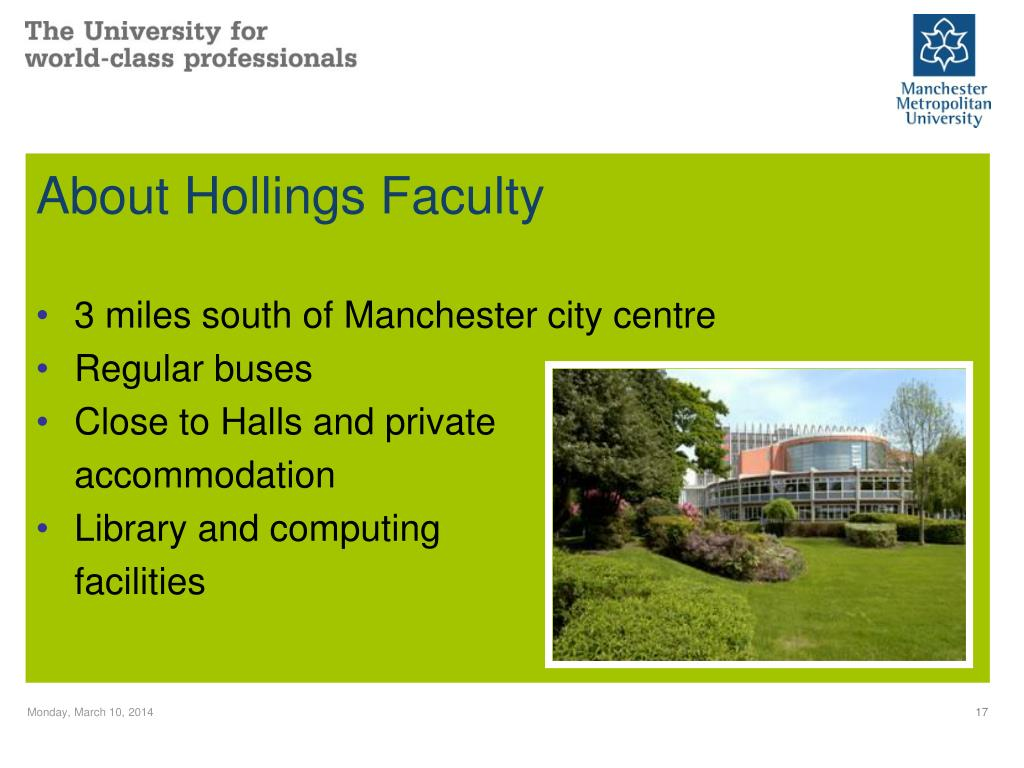 About Hollings Faculty