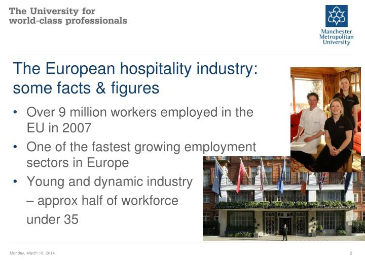 The european hospitality industry some facts figures