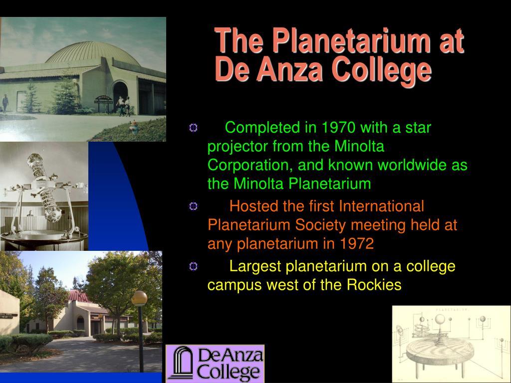 The Planetarium at