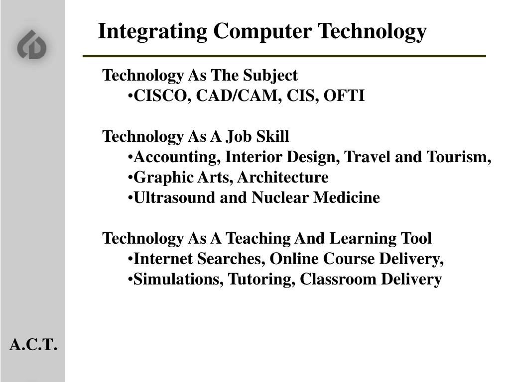 Integrating Computer Technology