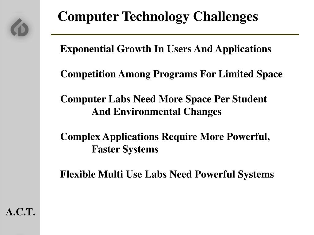 Computer Technology Challenges