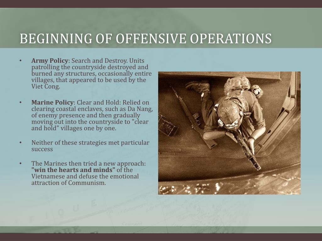 Beginning of offensive operations