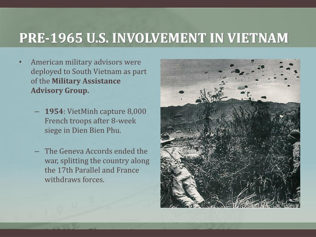 PRE-1965 U.S. INVOLVEMENT IN VIETNAM